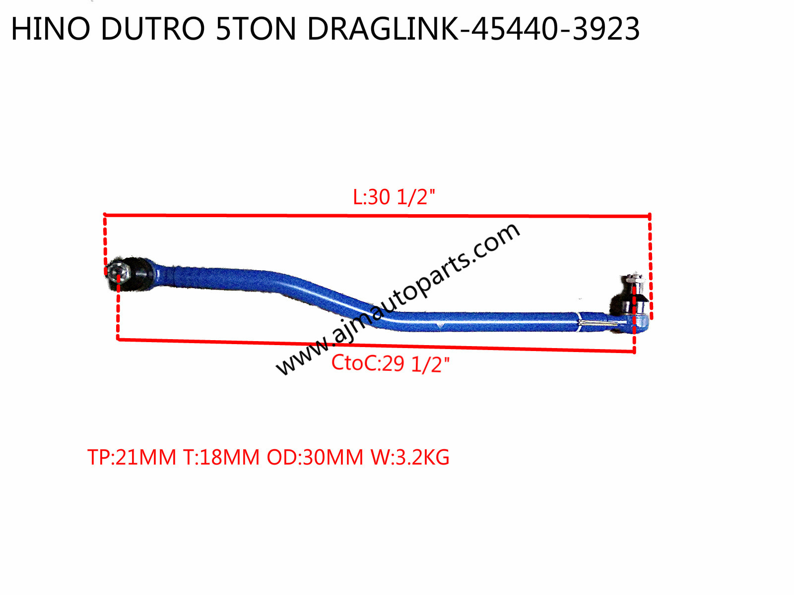 HINO DUTRO 5TON DRAGLINK-45440-39236