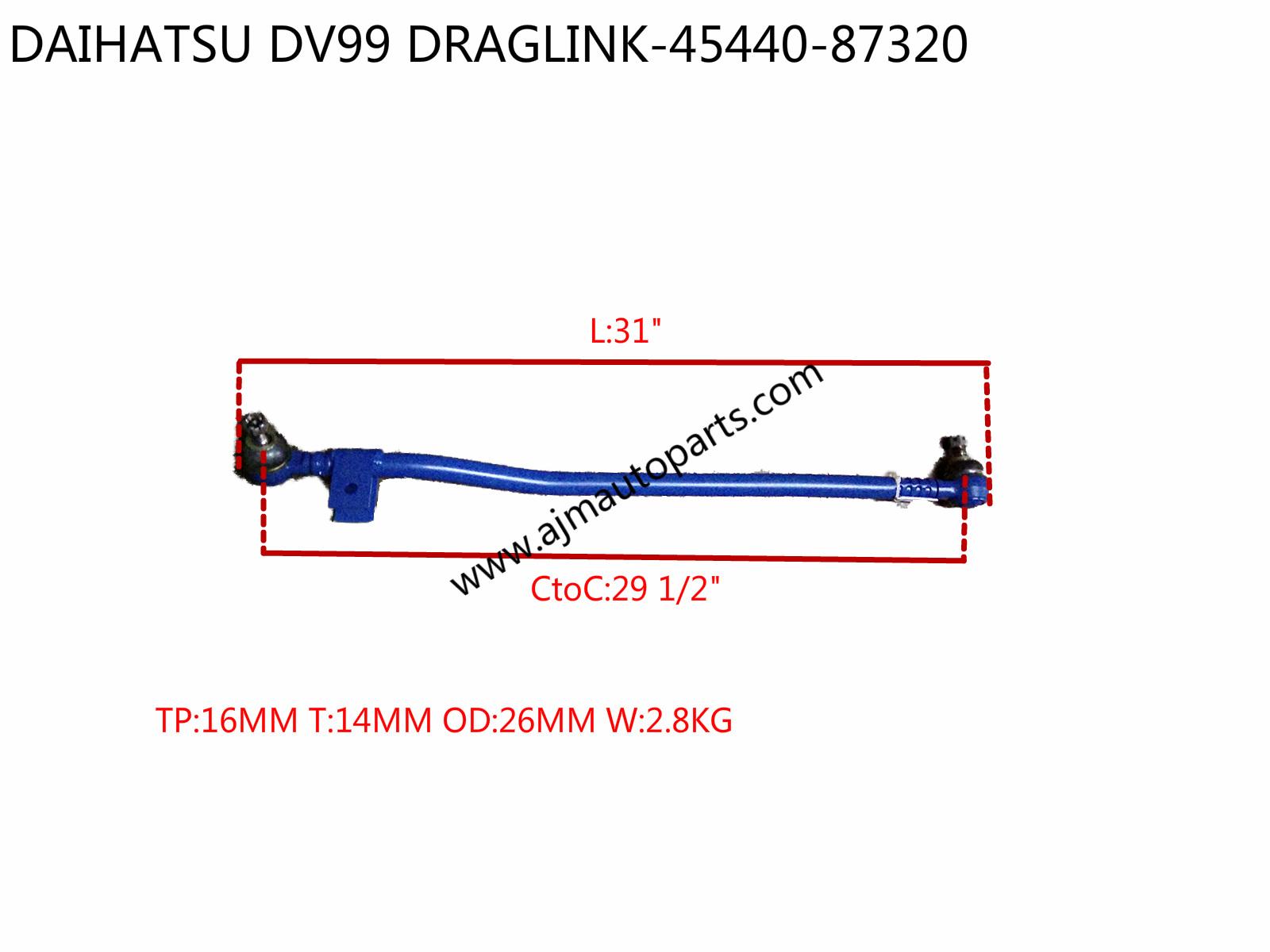 DAIHATSU DV99 DRAGLINK-45440-87324