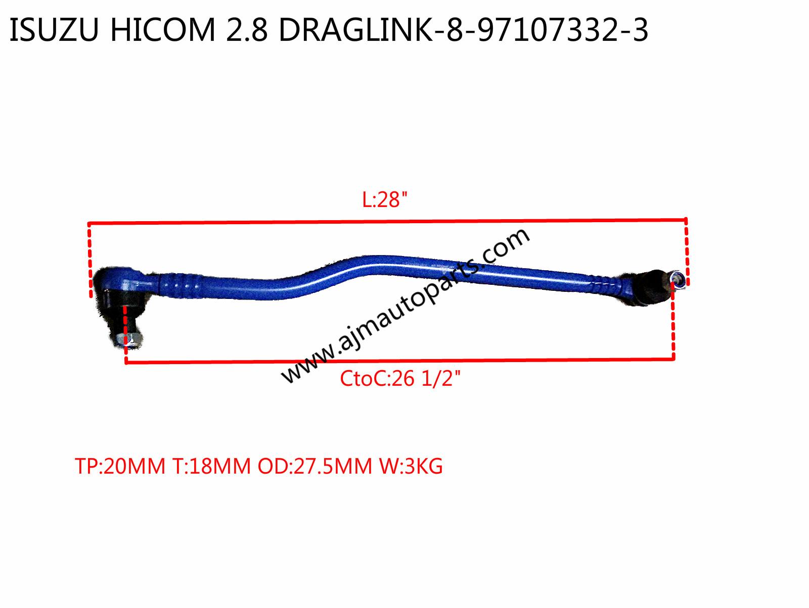 ISUZU HICOM 28 DRAGLINK 8 997107332 3