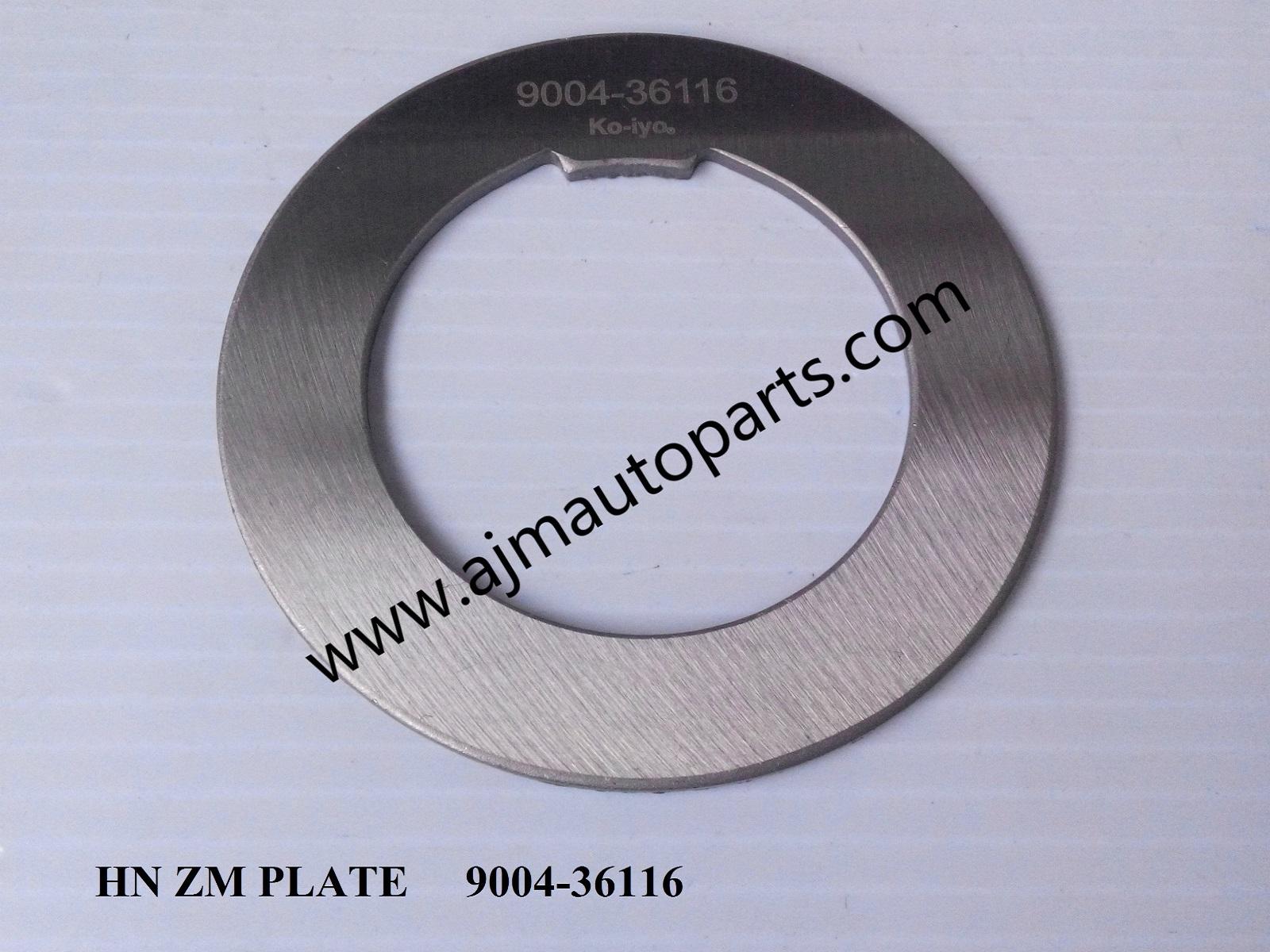 HINO ZM PLATE 9004-36116