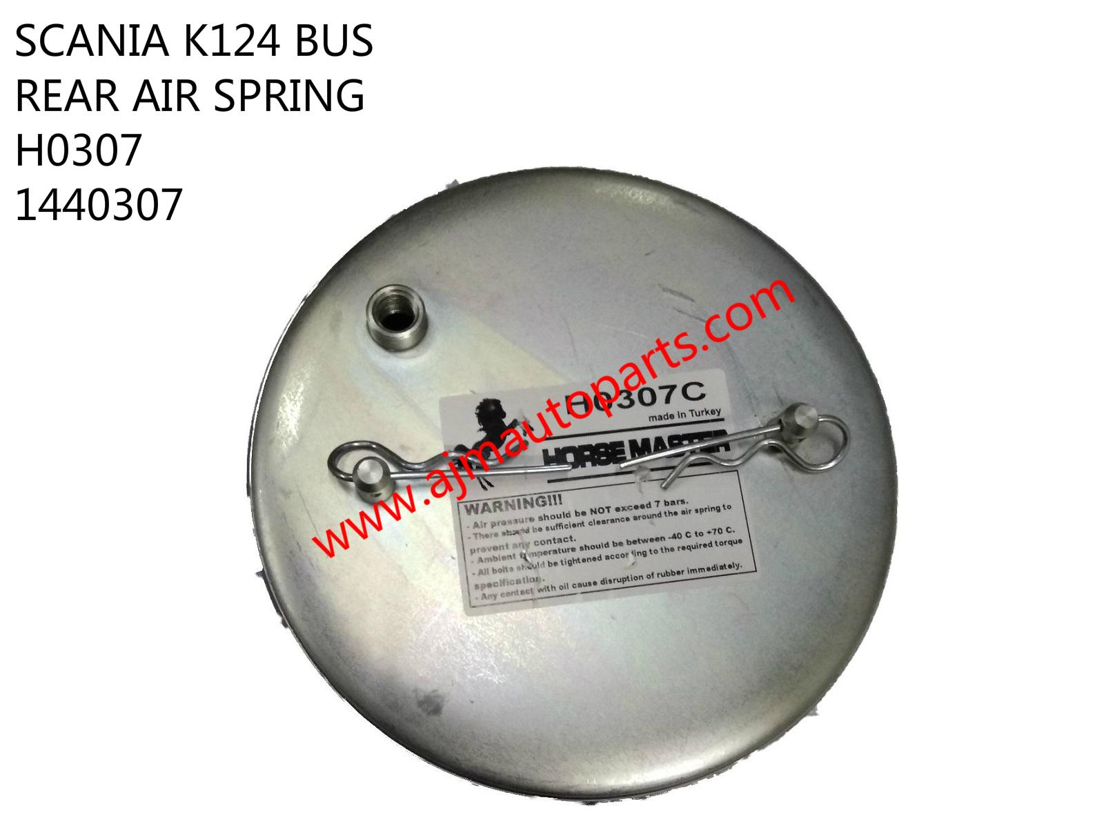 SCANIA K124 BUS REAR AIR SPRING-H0307 1440307