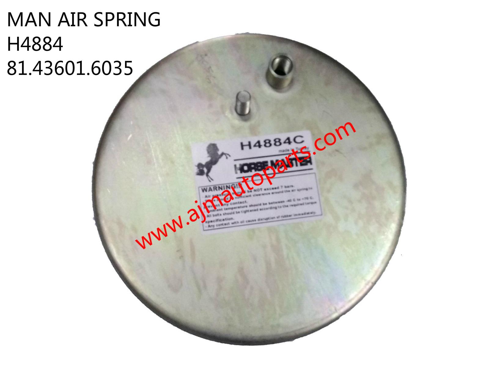 MAN AIR SPRING-H4884 81.43601.0152