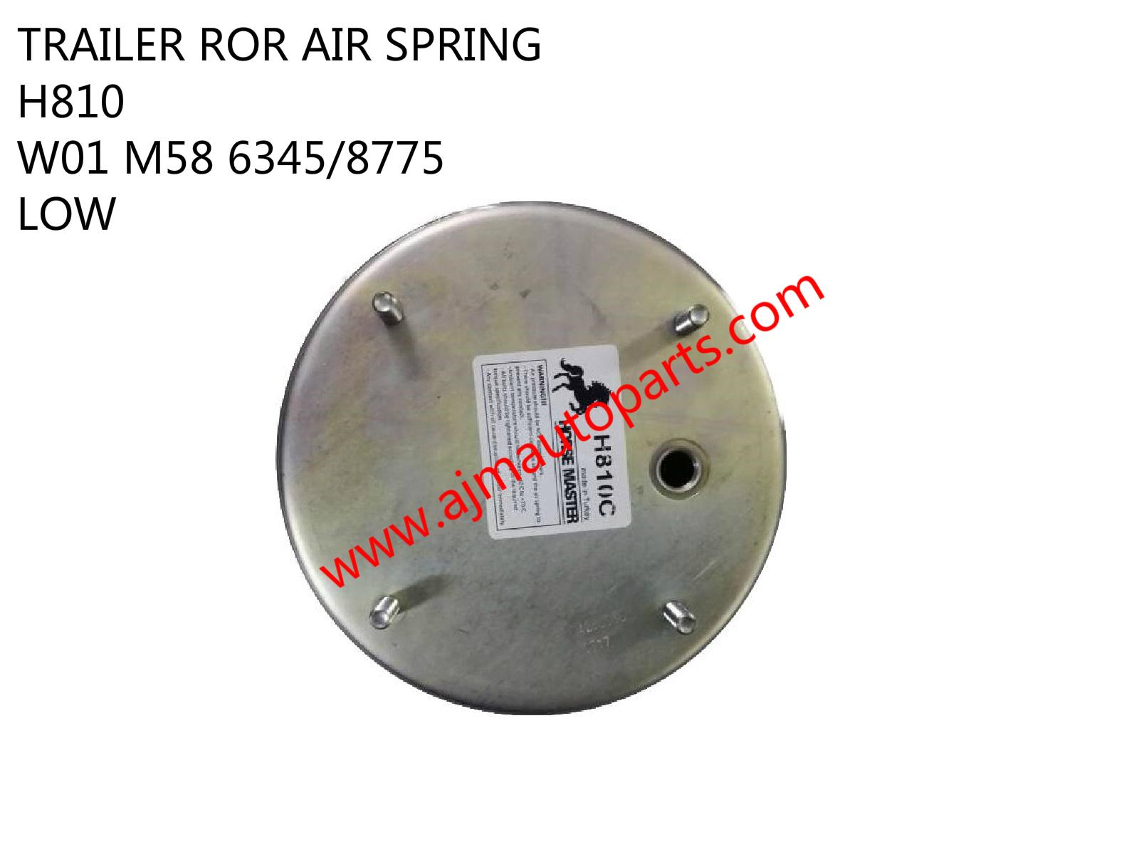 TRAILER ROR AIR SPRING h810