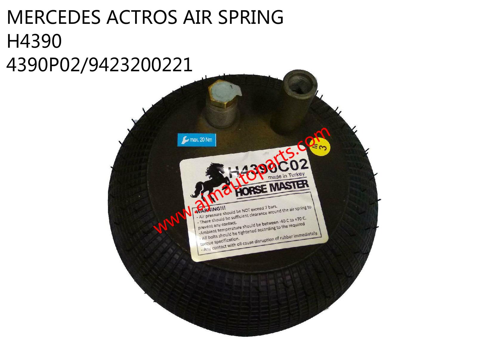 MB ACTROS AIR SPRING-H4390