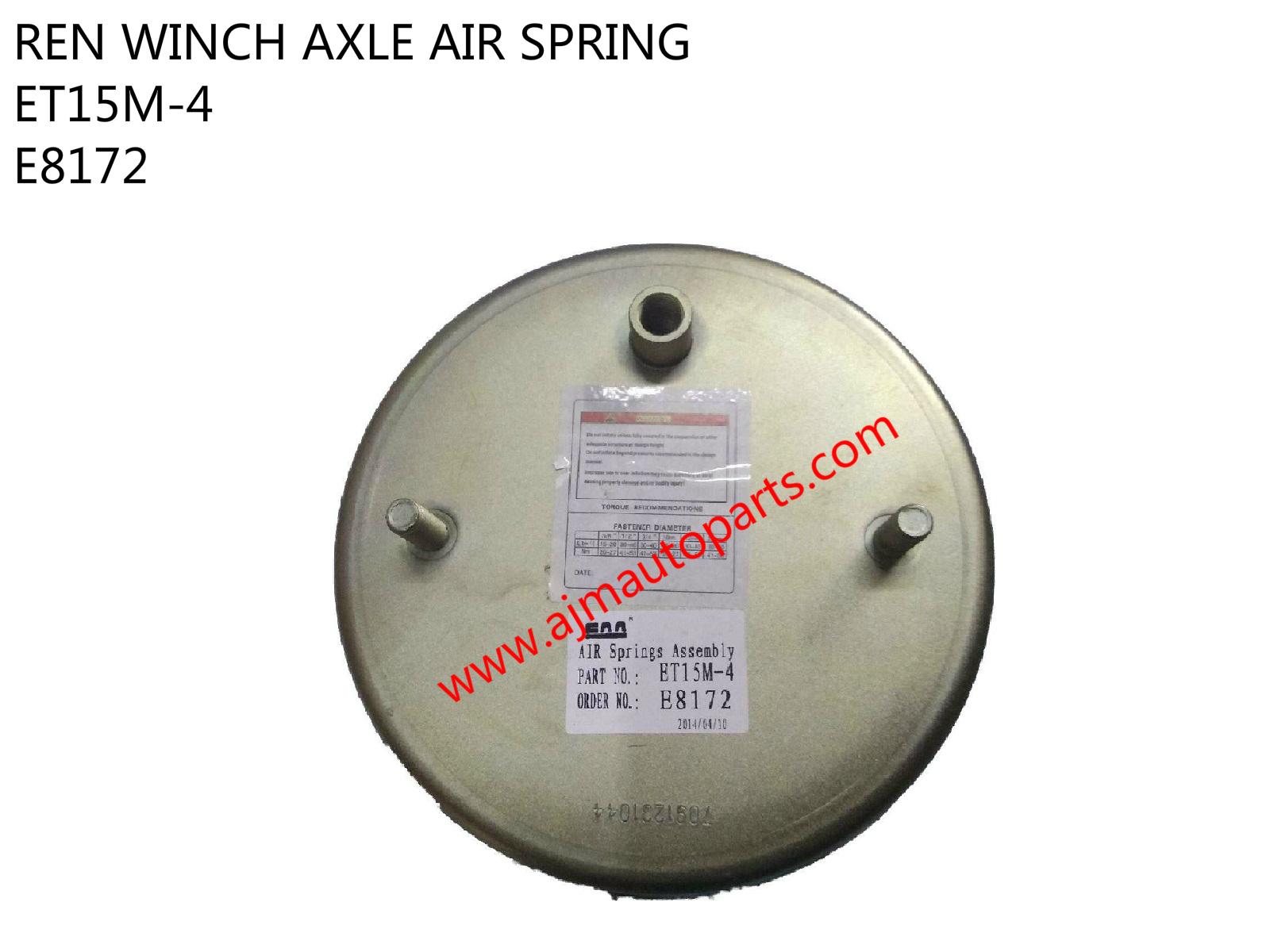REN AXLE WINCH AIR SPRING-E8172-E4154