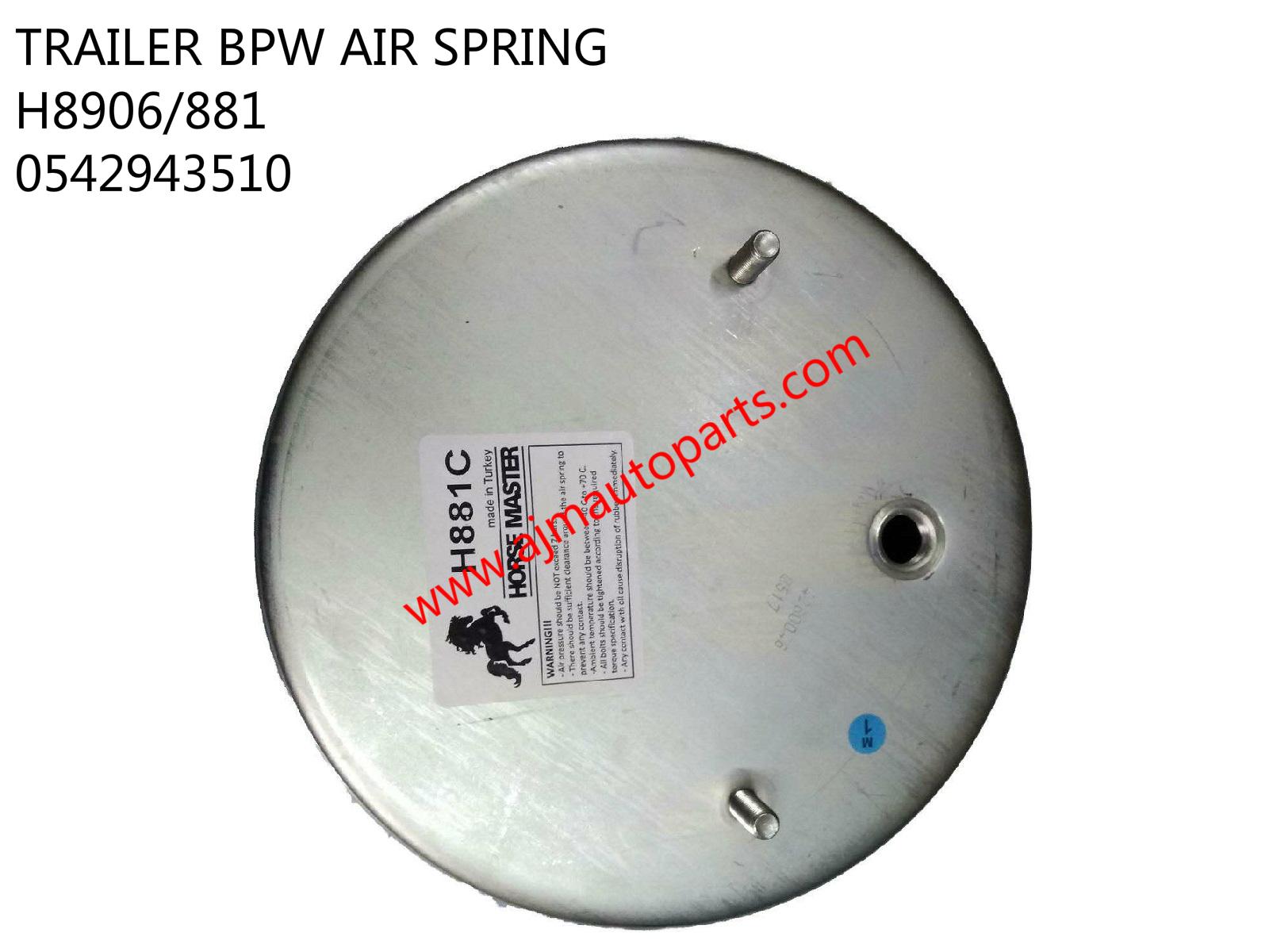 TRAILER BPW AIR SPRING-H881