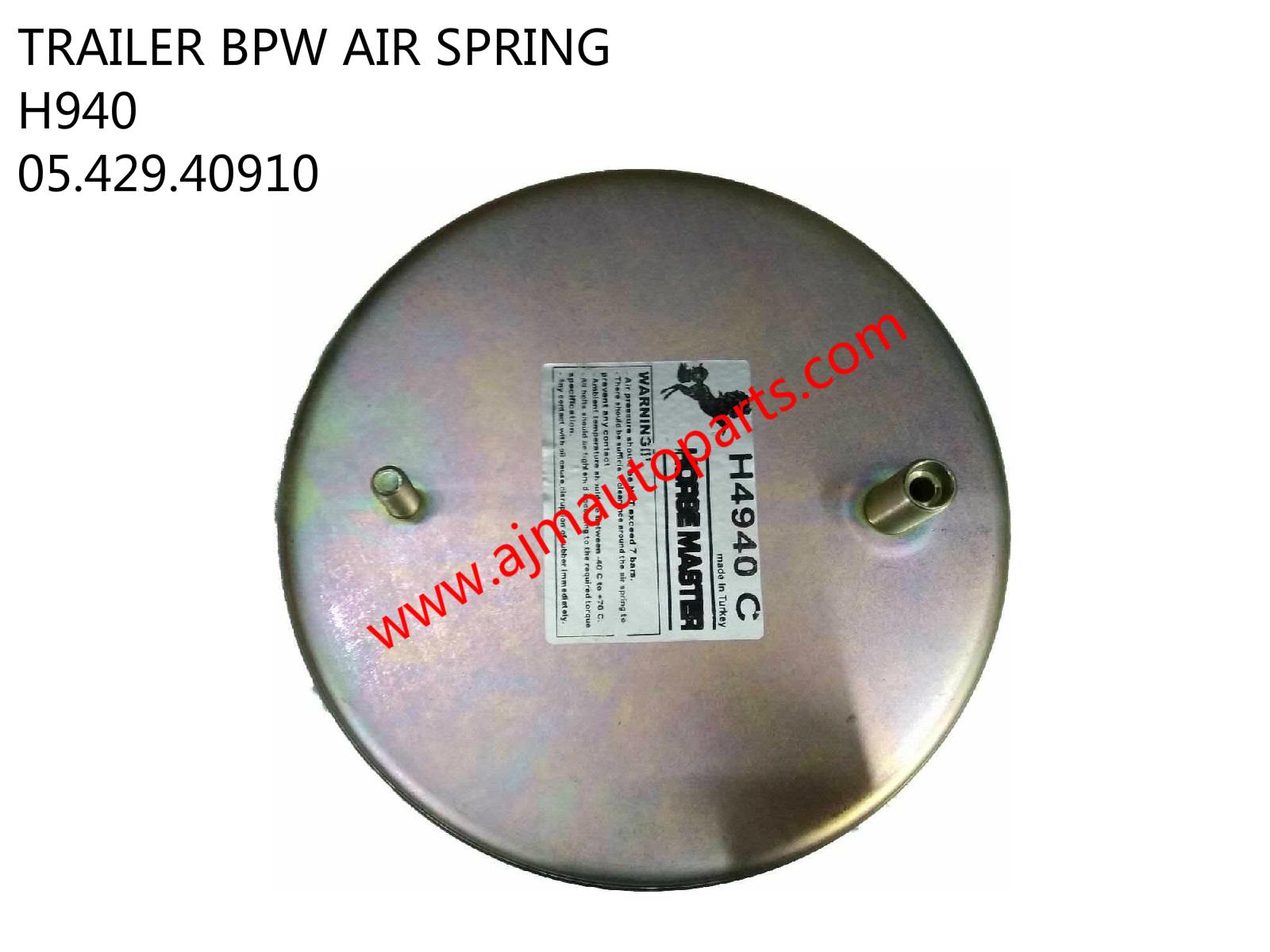 TRAILER BPW AIR SPRING-H940