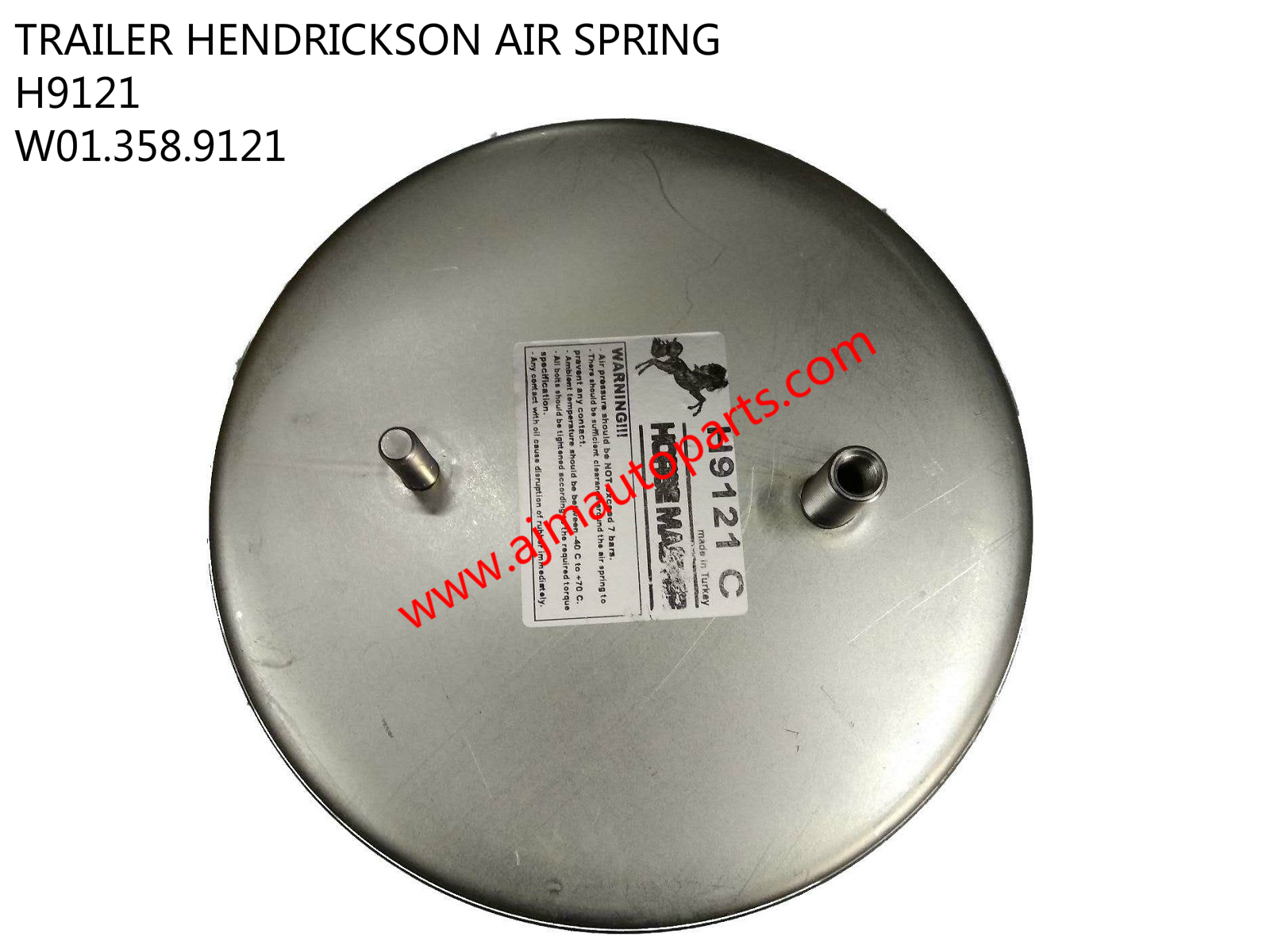 TRAILER HENDRICKSON AIR SPRING-H9121