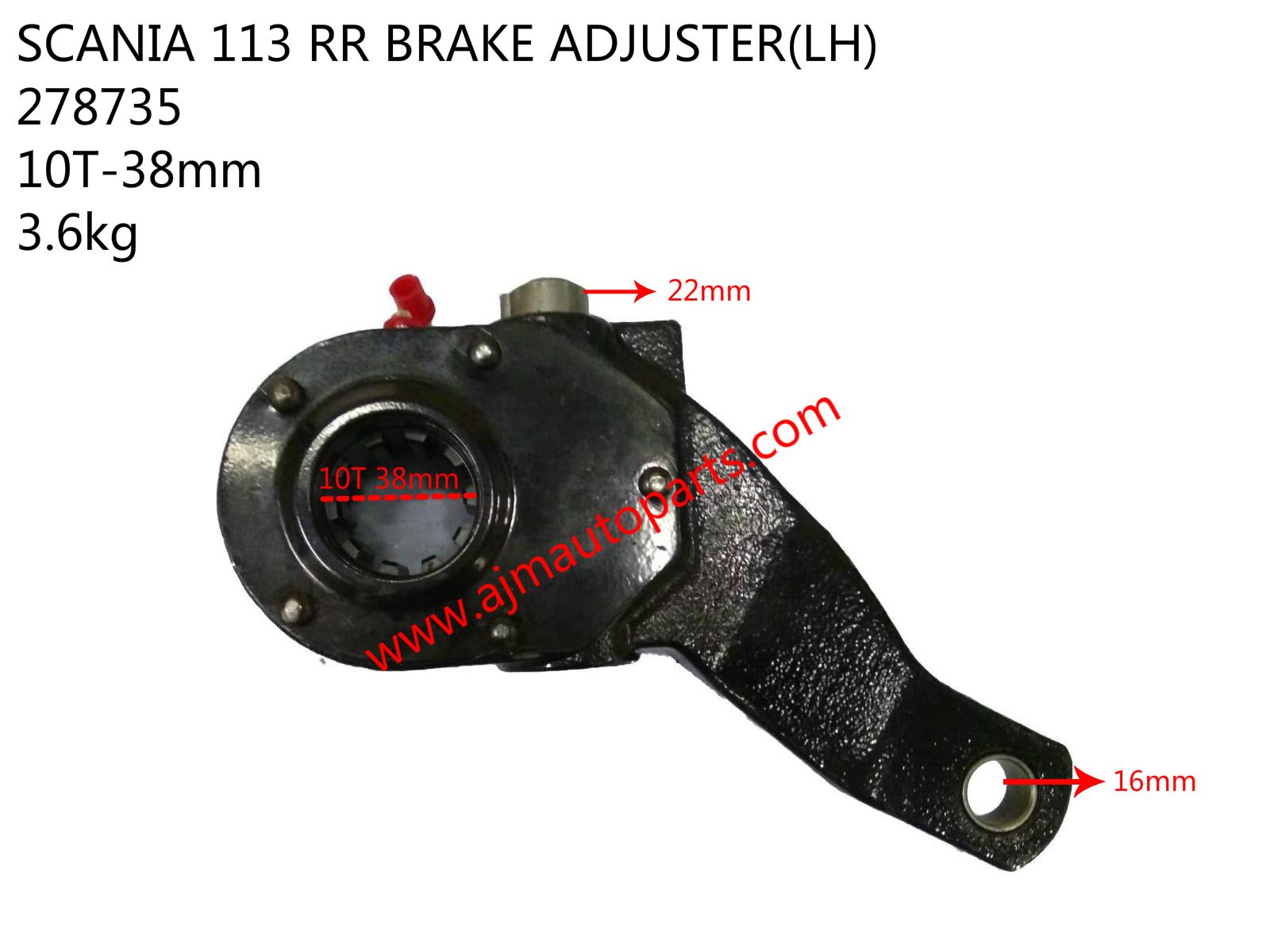 SCANIA 113 RR BRAKE ADJUSTER-LH-278735