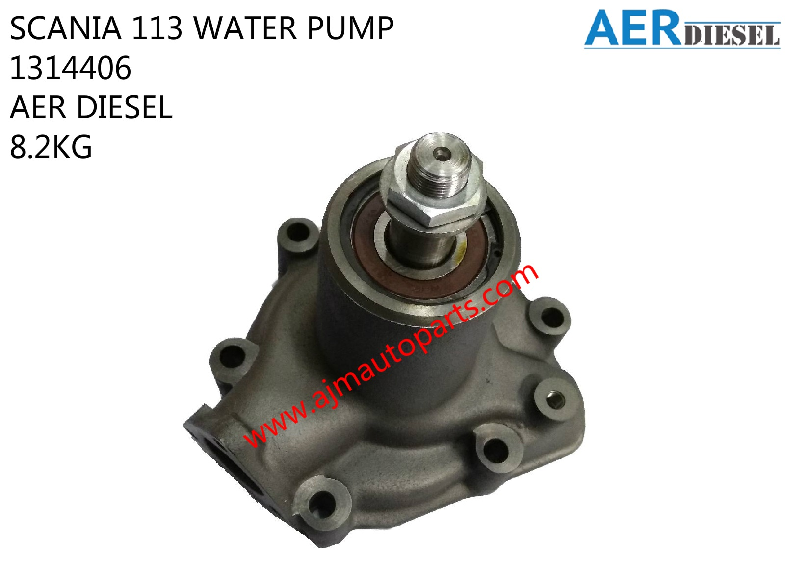 SCANIA 113 WATER PUMP-1314406