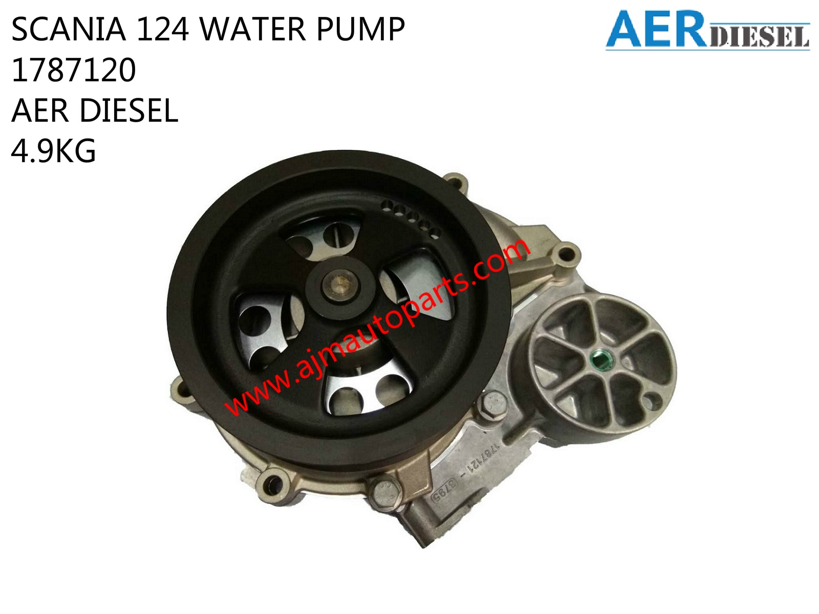 SCANIA 124 WATER PUMP-1787120