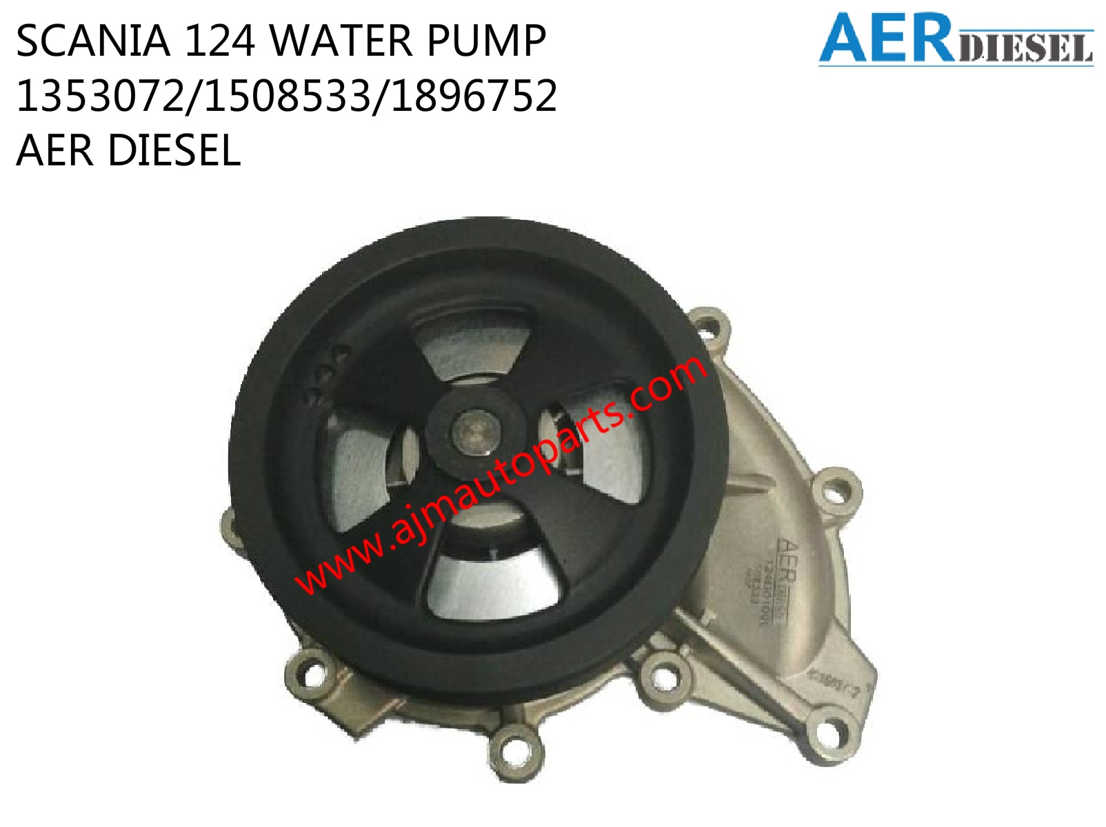 SCANIA 124 WATER PUMP LOW-1353072-1508533-1896752