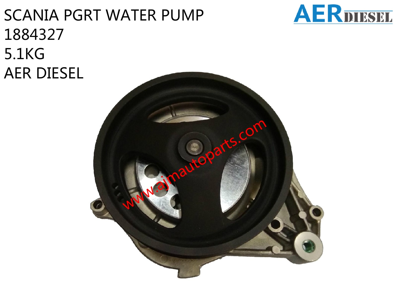 SCANIA PGRT WATER PUMP-1884327