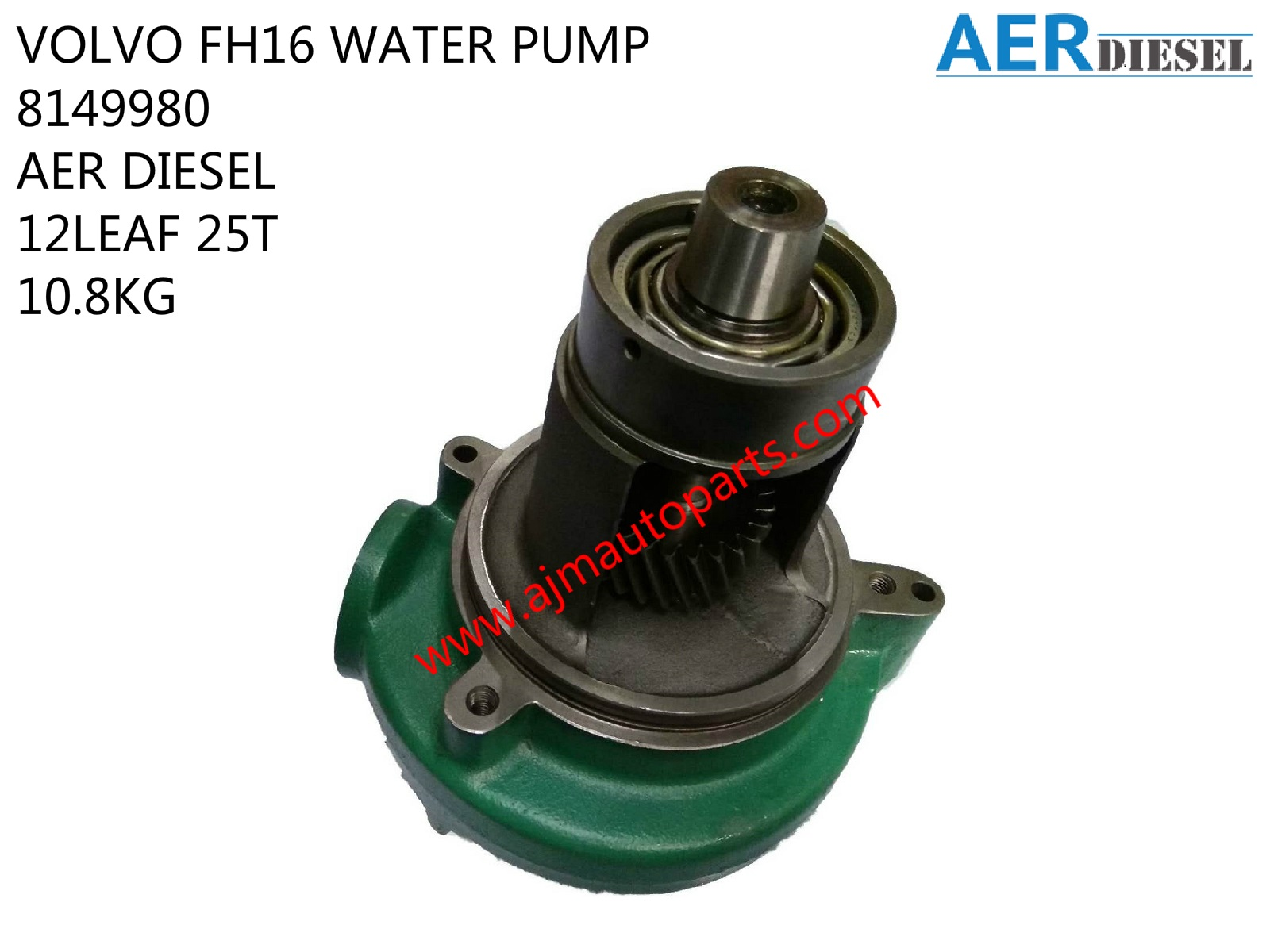 VOLVO FH16 WATER PUMP-8149980