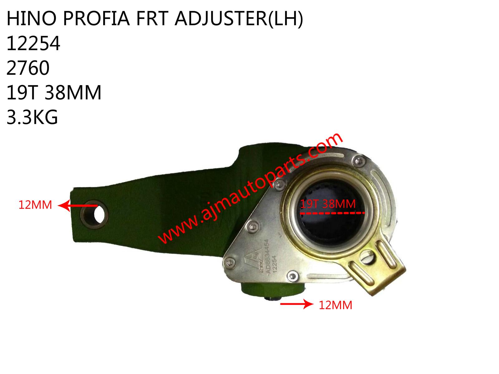 HINO PROFIA FRT ADJUSTER(LH)-12254-2760