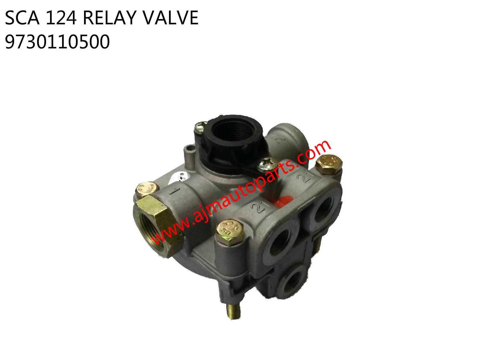 SCA 124 RELAY VALVE-9730110500