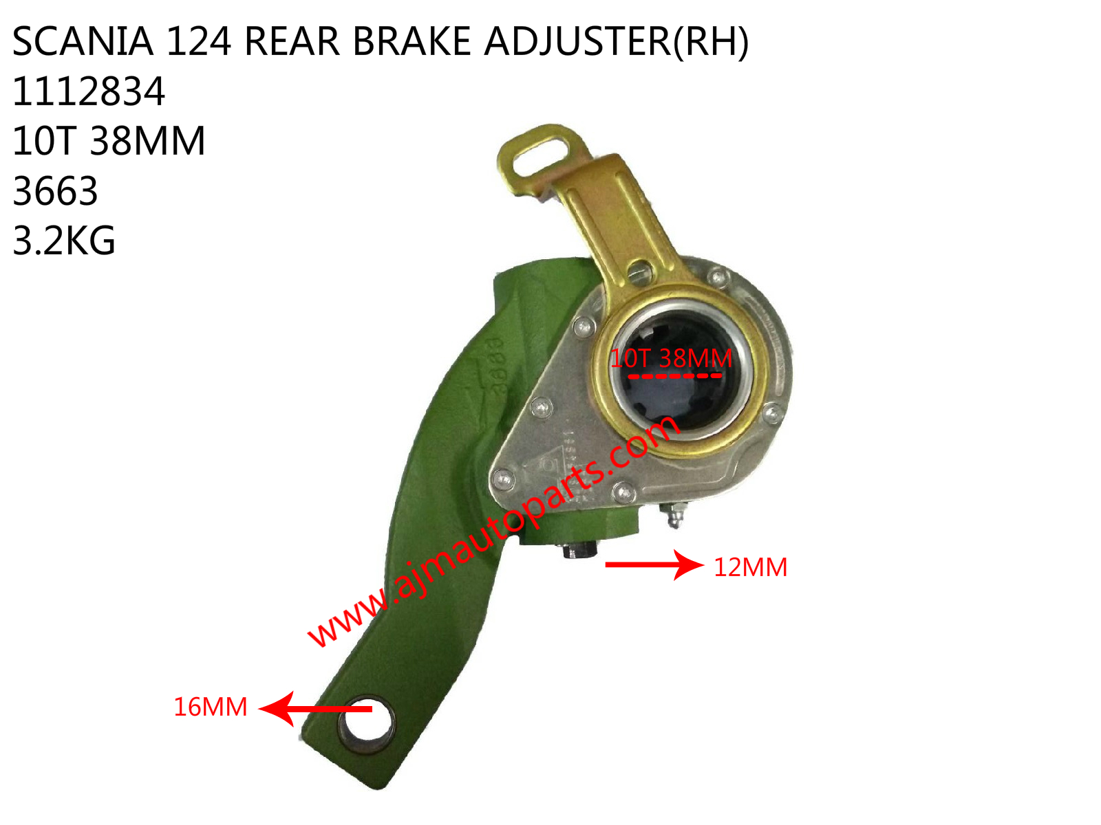 SCANIA 124 REAR ADJUSTER(RH)-1112834
