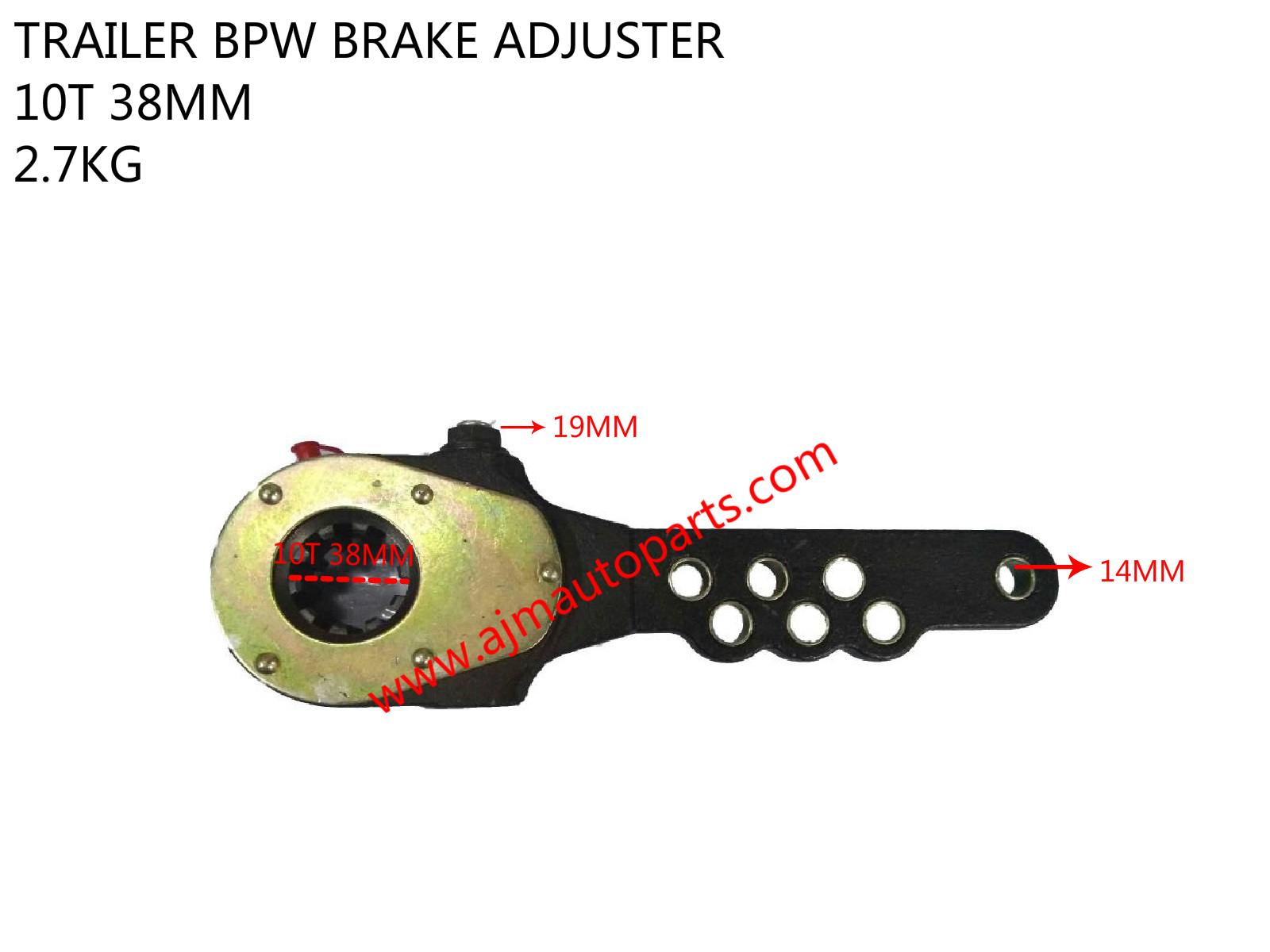 TRAILER BPW BRAKE ADJUSTER-0517465130