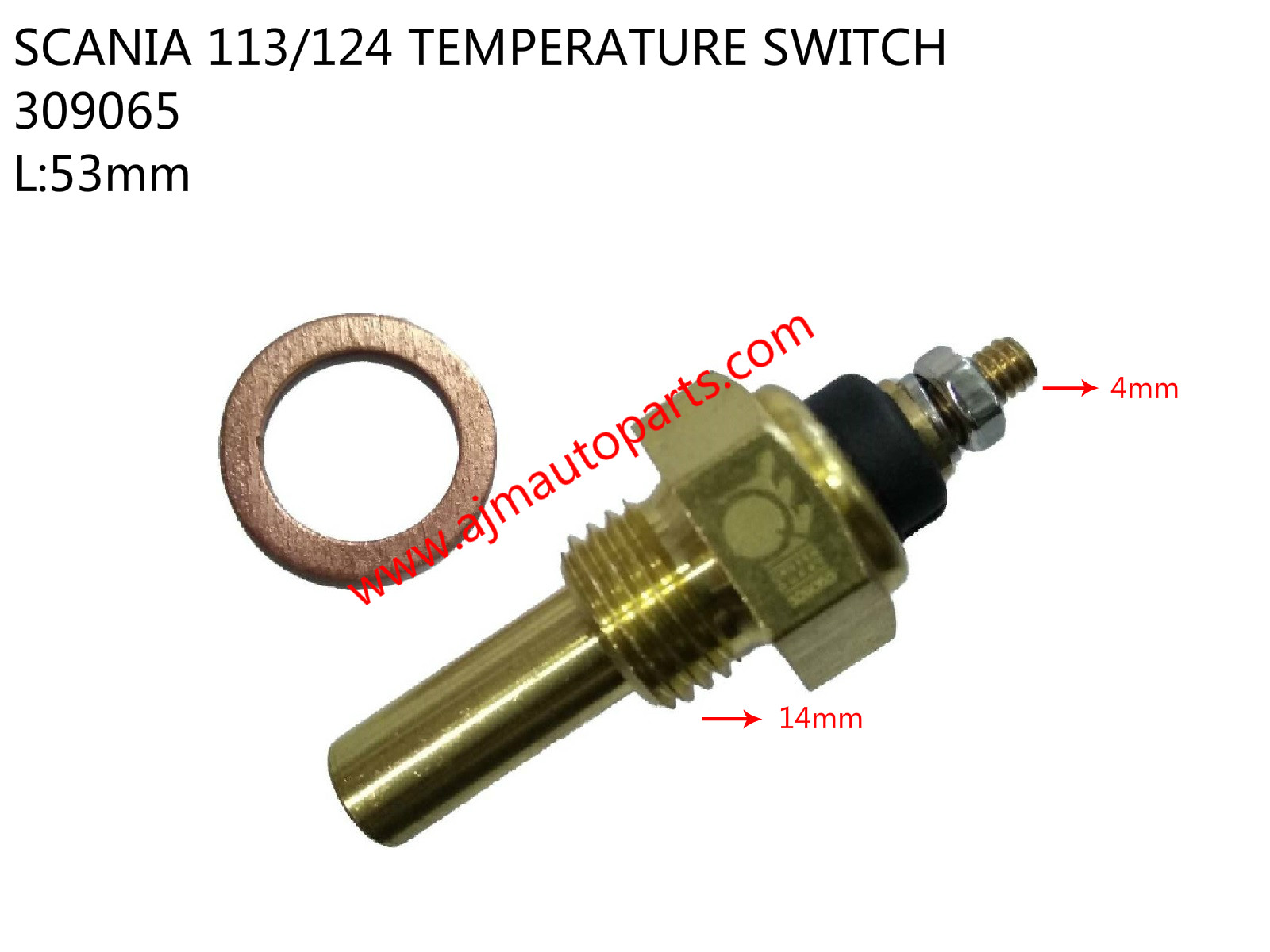 SCANIA 113/124 TEMPERATURE SWITCH-309065