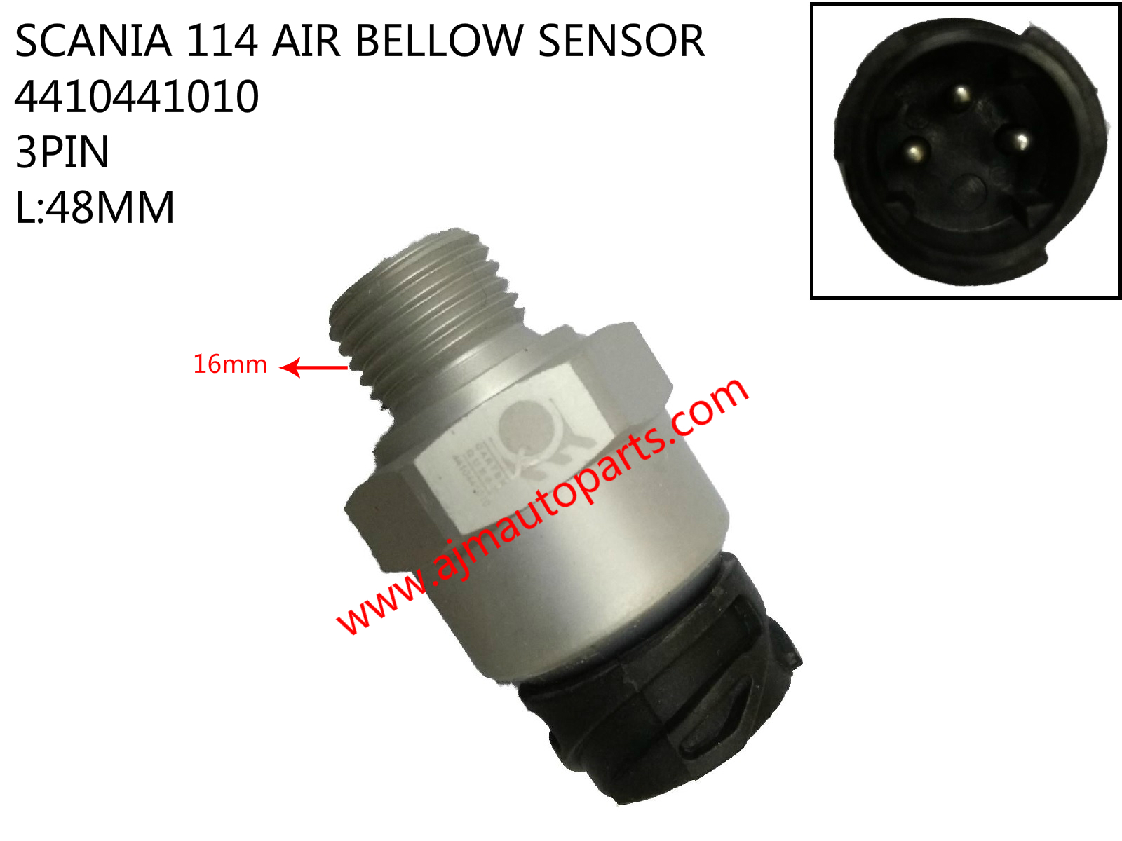 SCANIA 114 AIR BELLOW SENSOR-4410441010