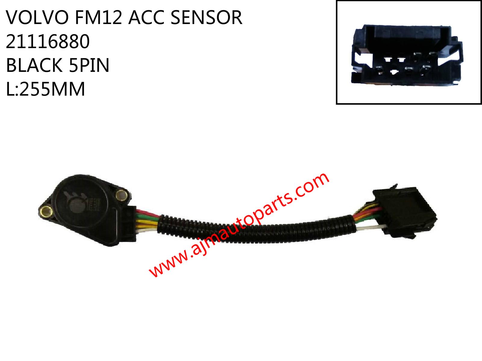 VOLVO FM12 ACC SENSOR-BLACK-5PIN-21116880_