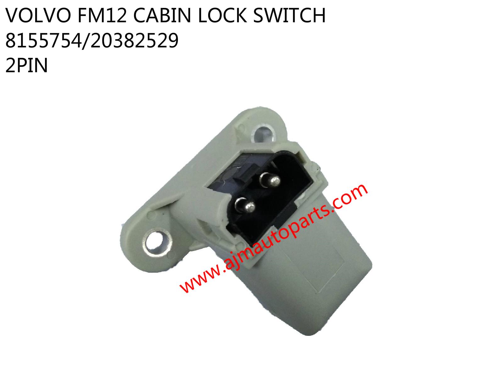 VOLVO FM12 CABIN LOCK SWITCH-8155754-20382529