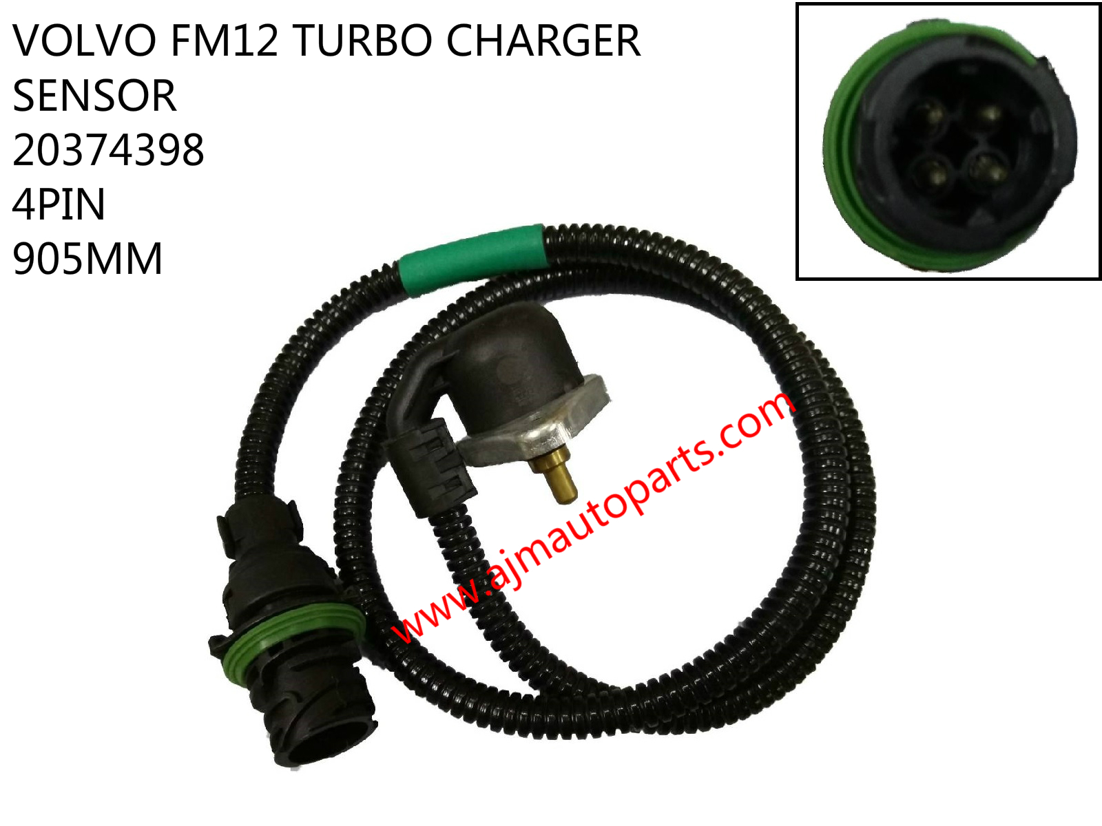 VOLVO FM12 TURBO CHARGER SENSOR-20374398