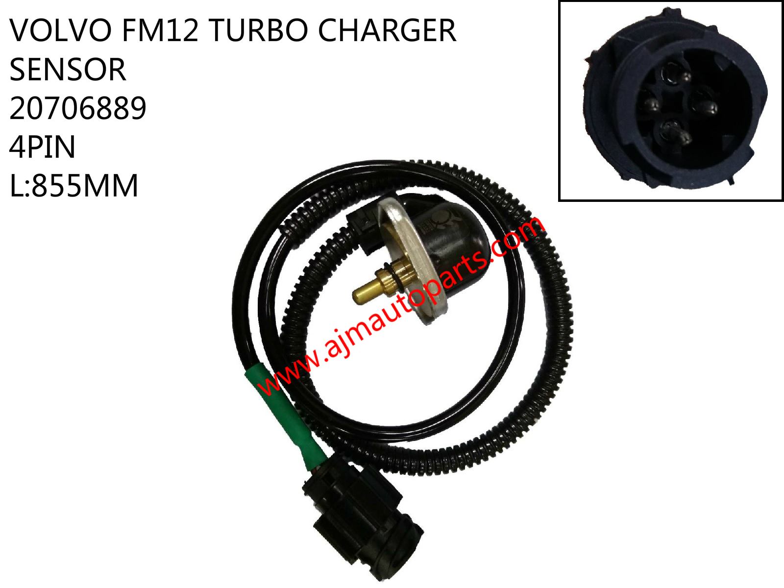 VOLVO FM12 TURBO CHARGER SENSOR-20706889_