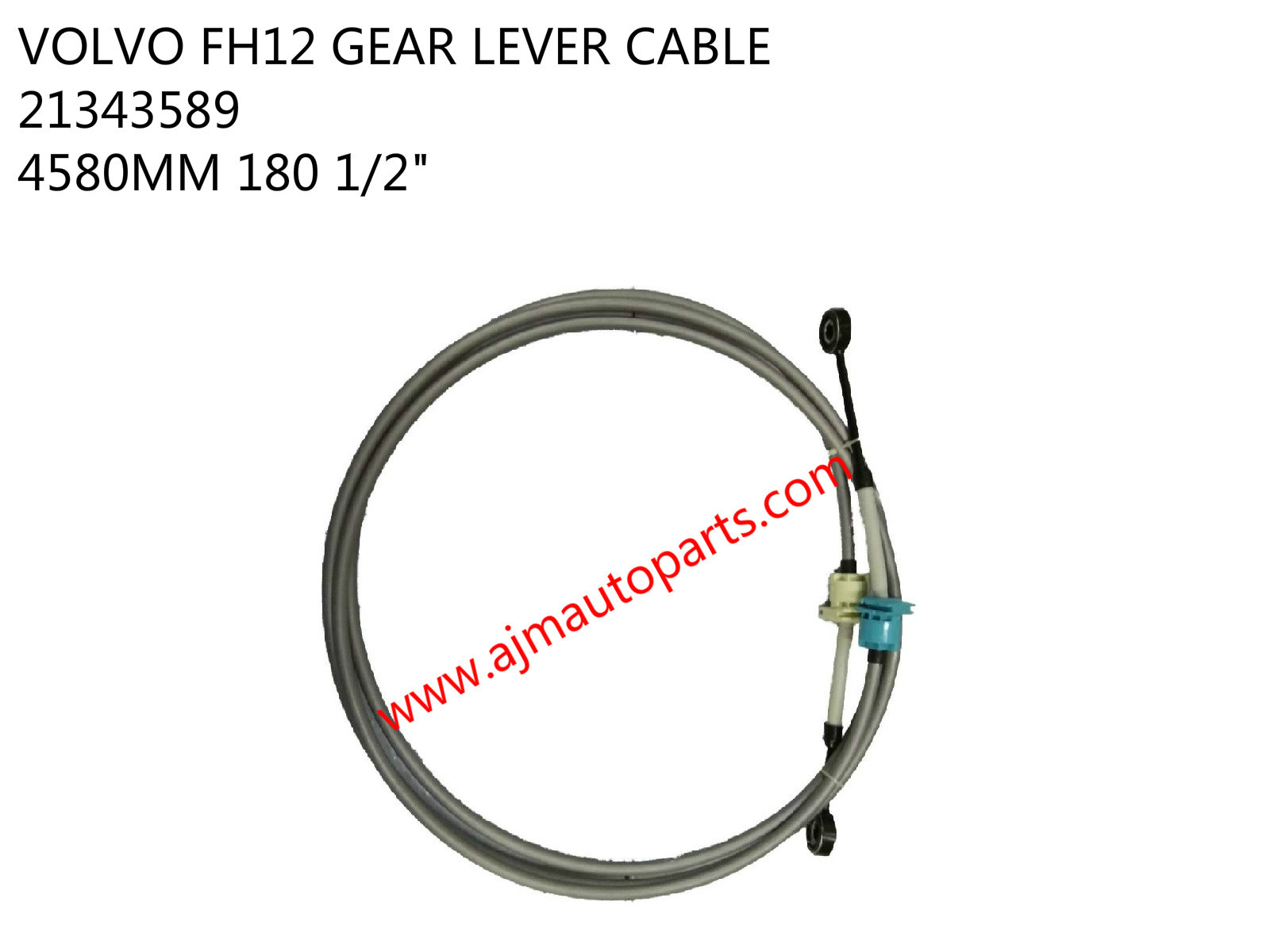 VOLVO FH12 GEAR LEVER CABLE-21343589