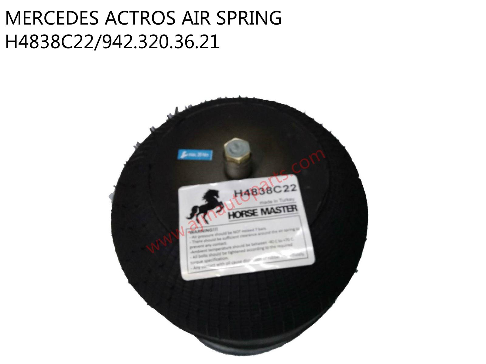 MERCEDES ACTROS AIR BELLOW-H4838C22