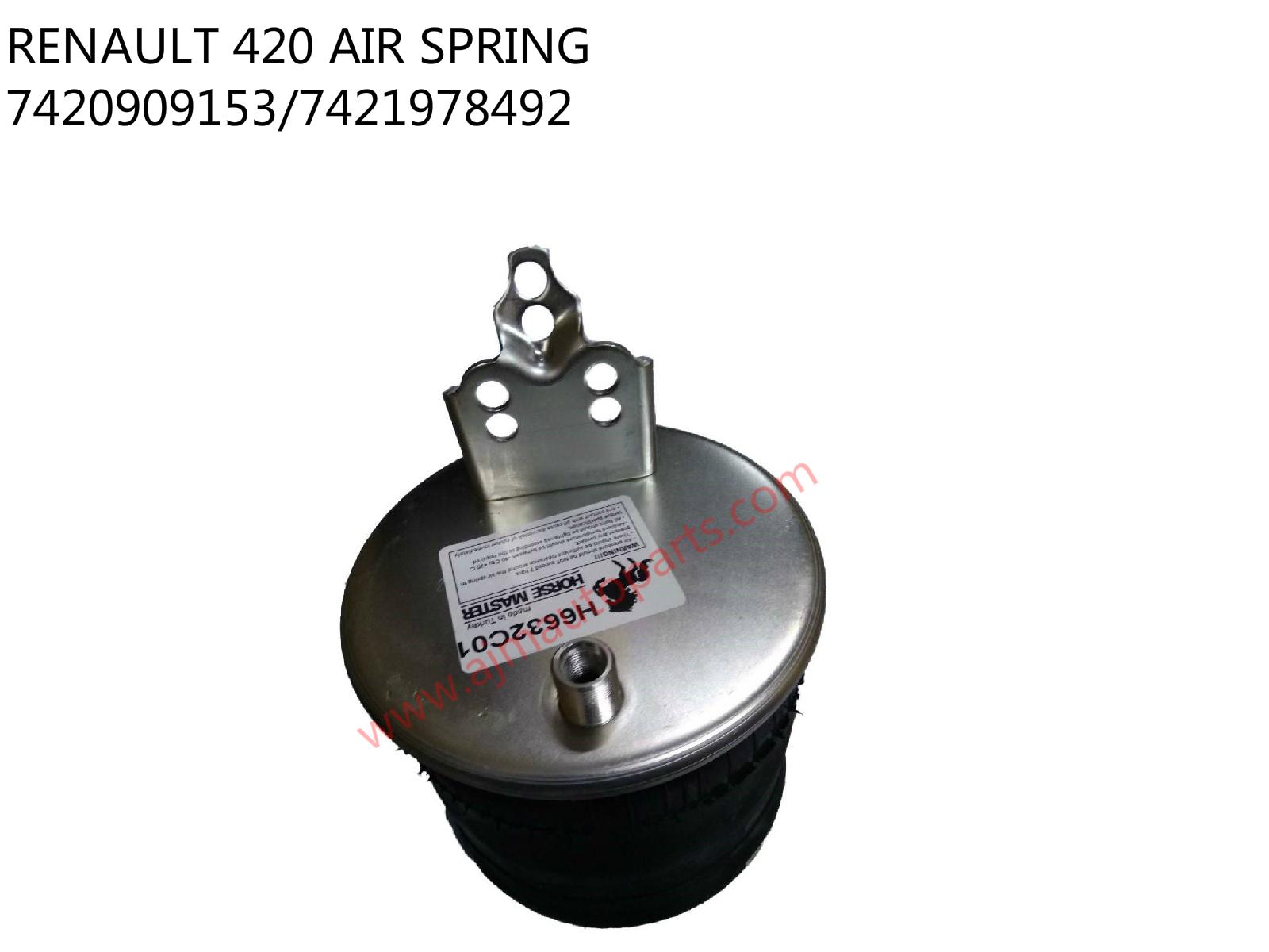 RENAULT 420 AIR BELLOW-H6632