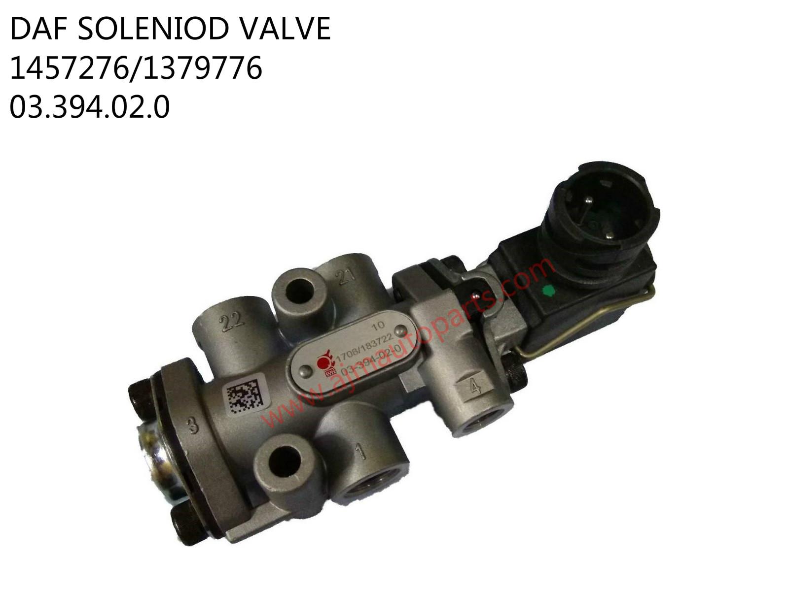 DAF SOLENIOD VALVE-1457276-1379776