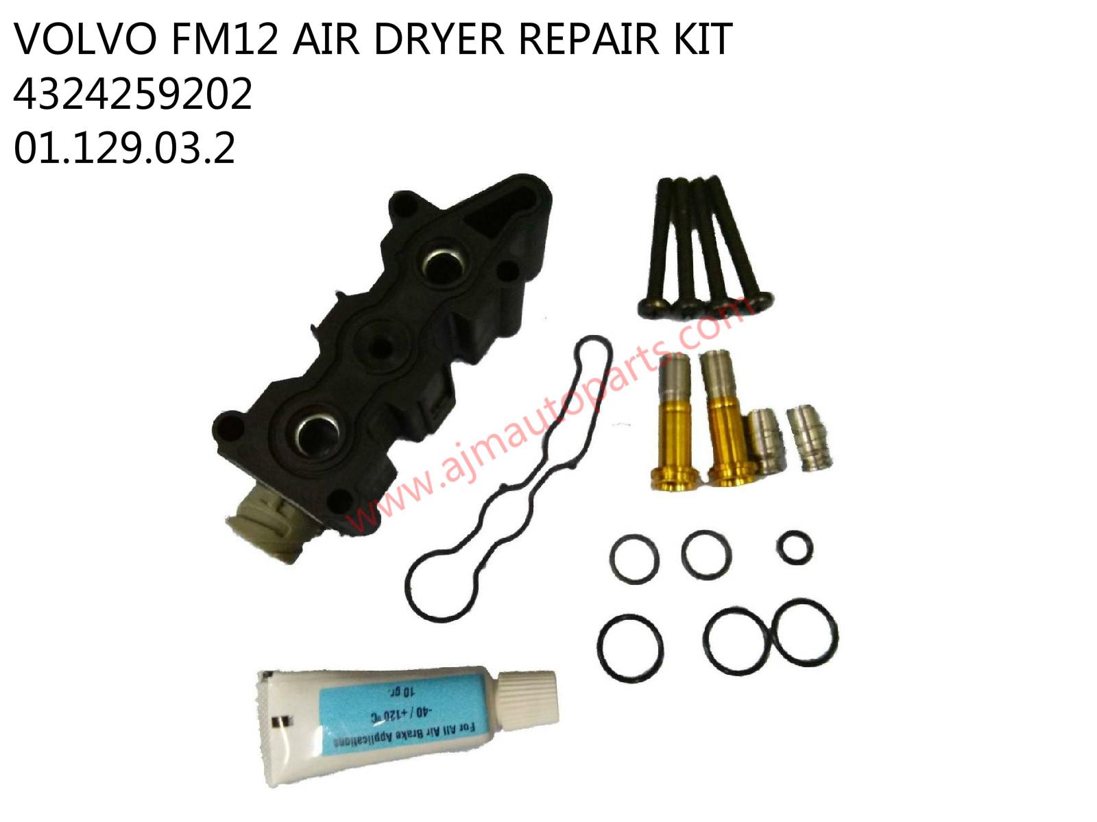 VOLVO AIR DRYER REPAIR KIT-4324259202