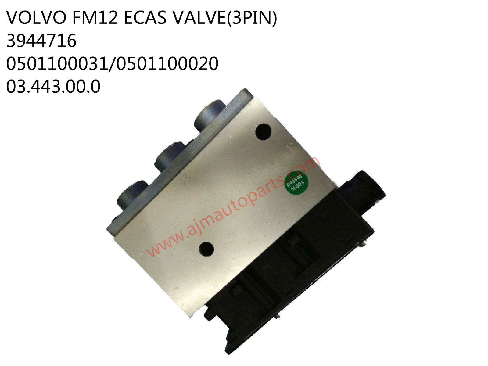 VOLVO FM12 ECAS VALVE-3944716/0501100031/0501100020