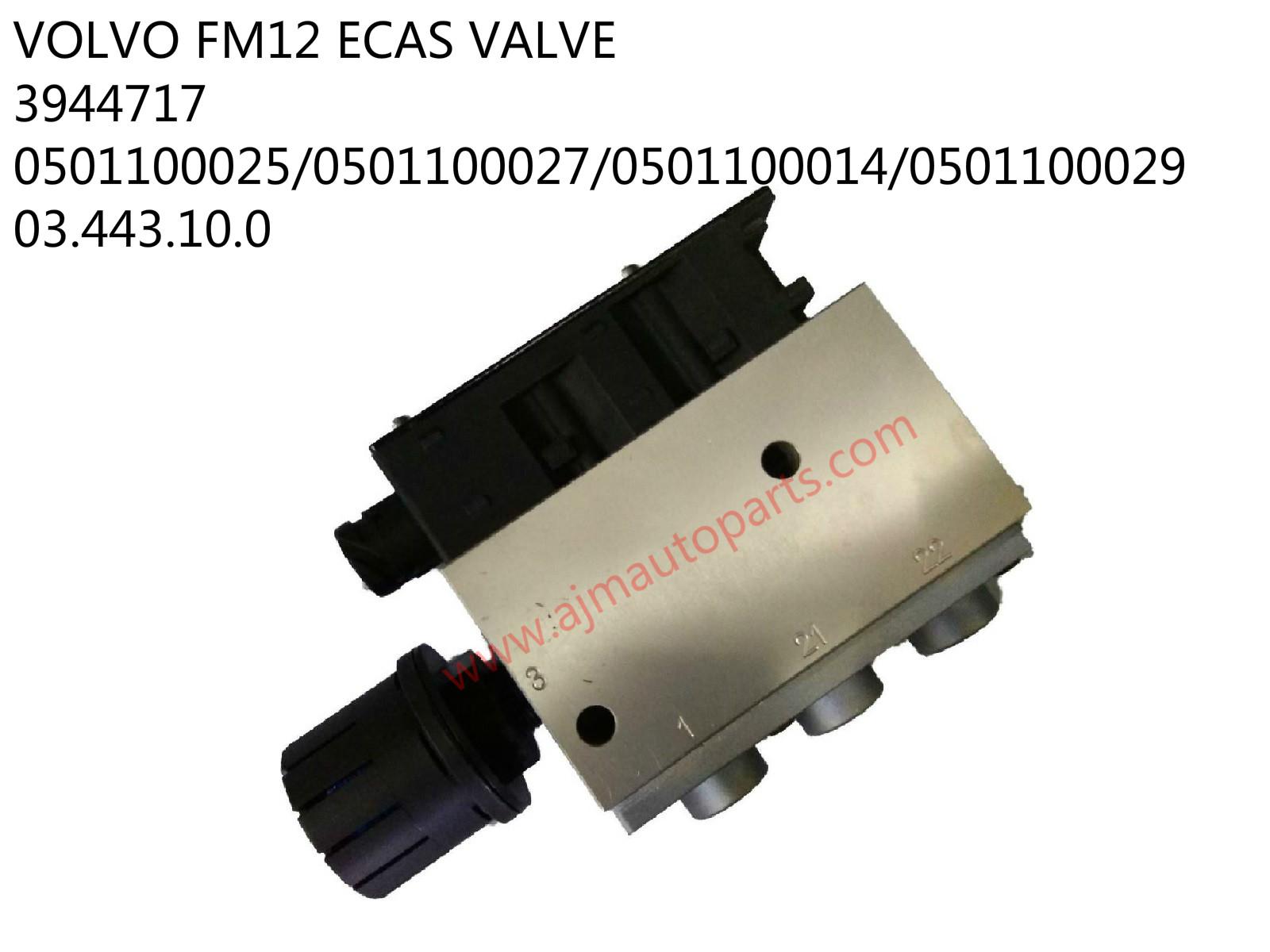 VOLVO FM12 ECAS VALVE-3944717/0501100025/0501100027/050100014
