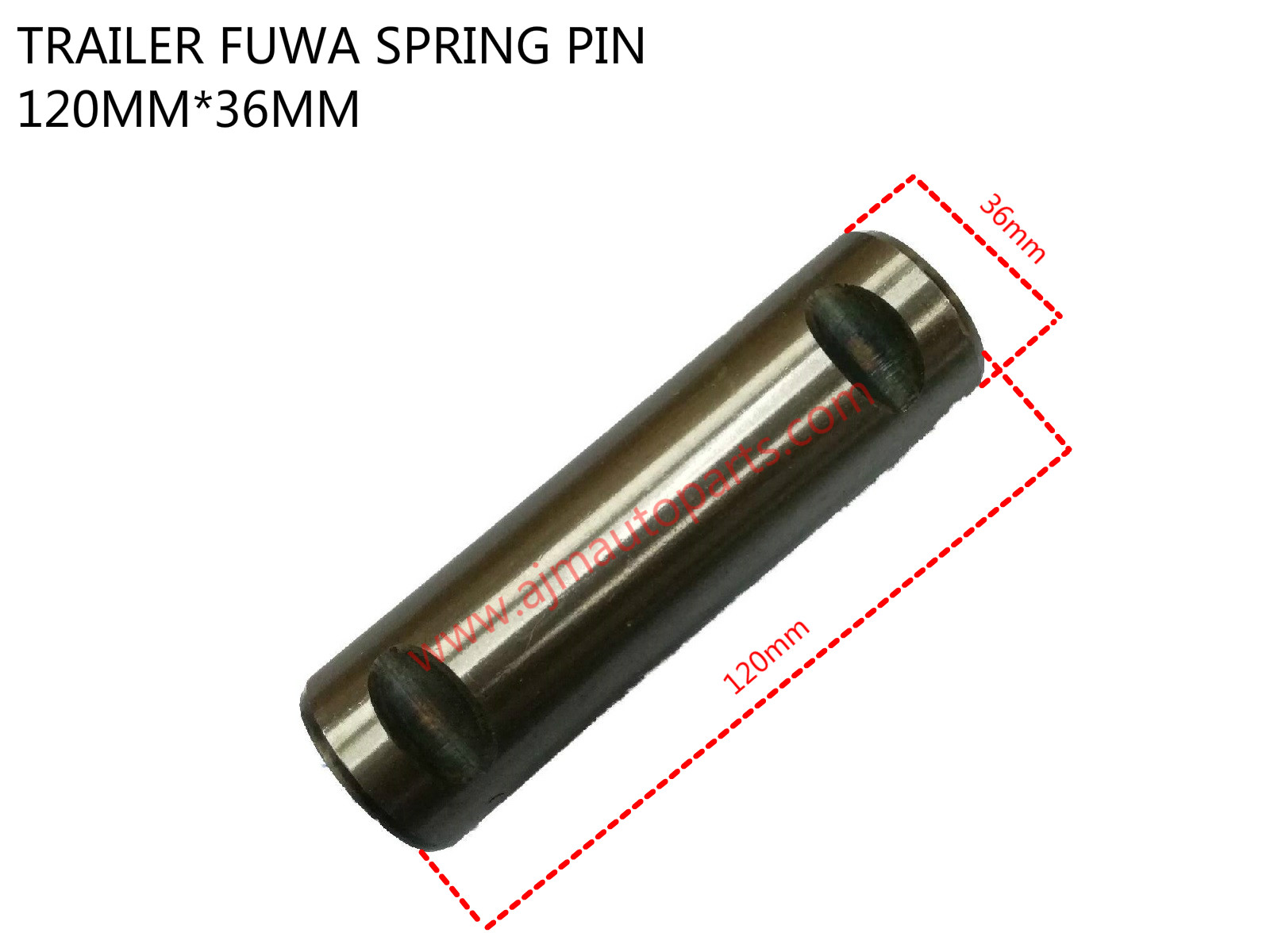 TRAILER FUWA SPRING PIN-36MMX120MM