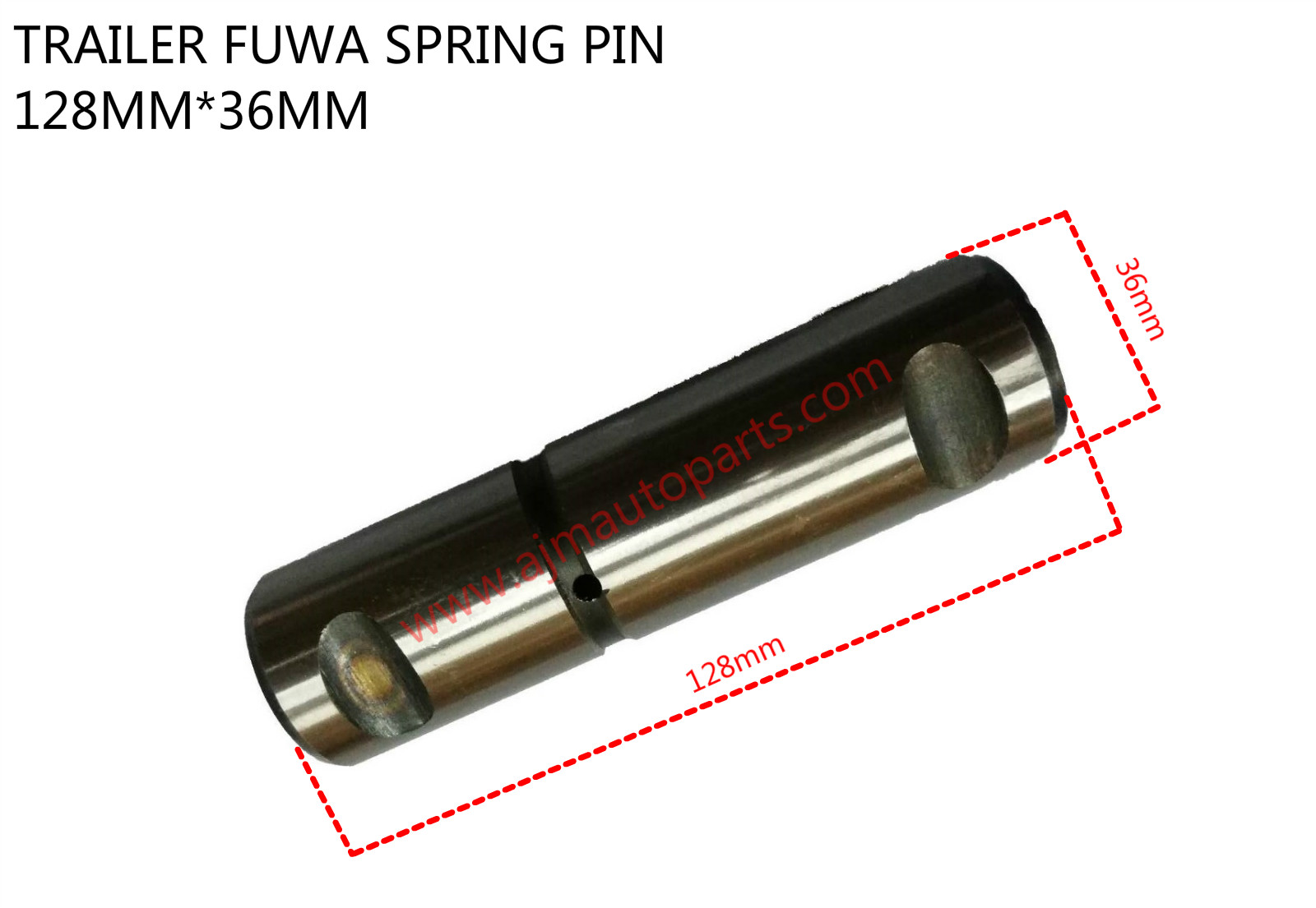 TRAILER FUWA SPRING PIN-36MMX128MM