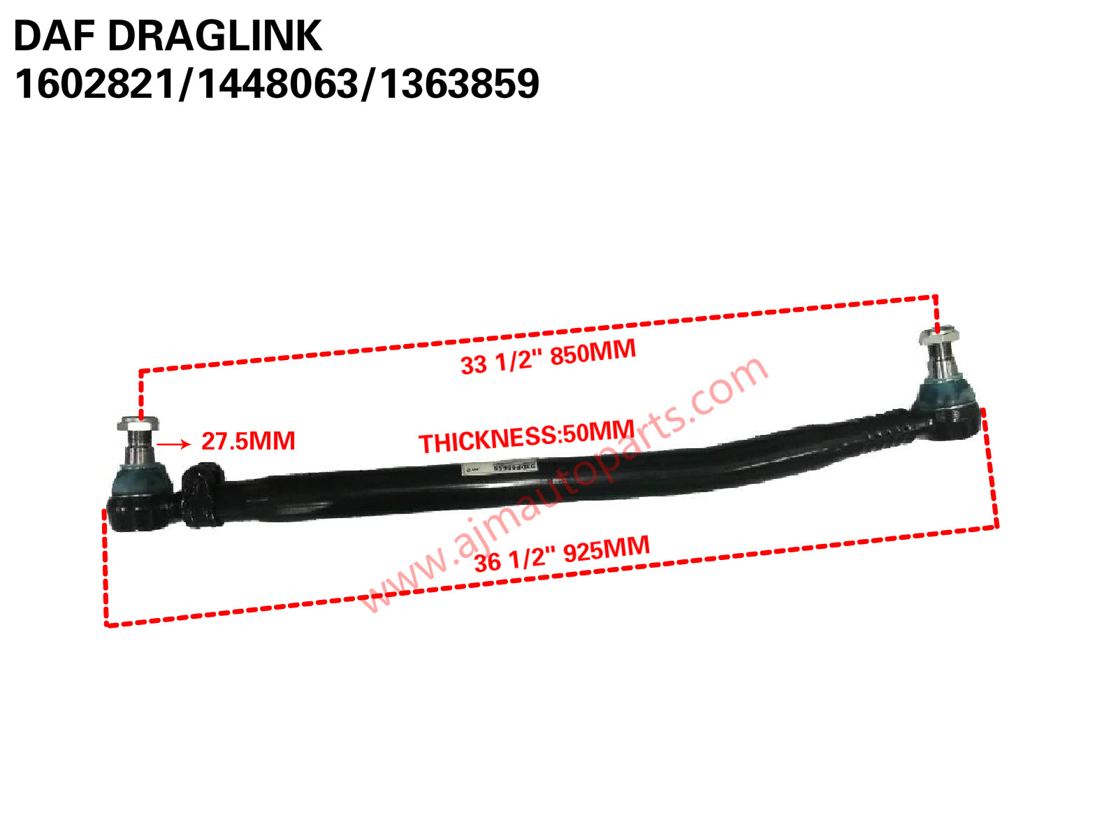 Daf Draglink 1602821 1448063 1363859 Ajm Auto Continental Corp Sdn Scania 124 Wiring Diagram